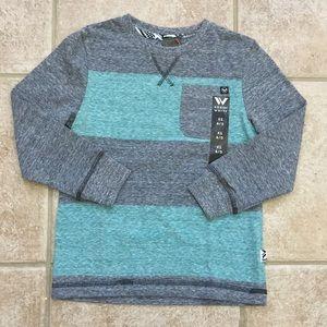 Shaun White Boys Long Sleeve Colorblock Tee Shirt